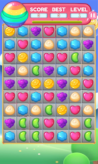 Screenshot 1: Candy Landy - Match 3 Puzzle : Free Games 2020