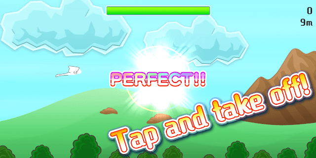 Screenshot 2: Fly to the Sky! Flying Man