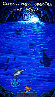 Screenshot 1: FishingRPG Fishing Paradise