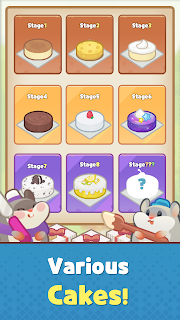 Screenshot 4: Hamster's Cake Factory