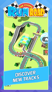 Screenshot 3: Run Road 3D