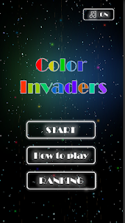 Screenshot 2: Color Invaders (Free Game) Retro Shooting