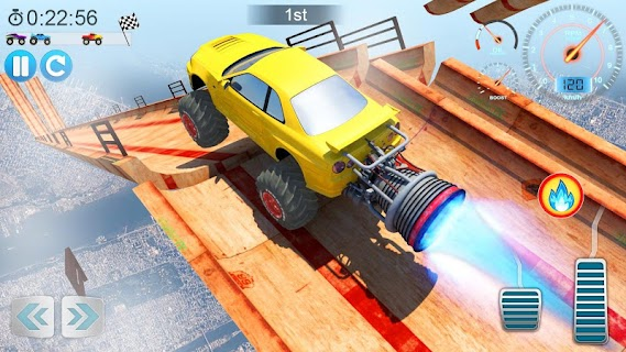 Screenshot 2: Mega Ramp V - Car Stunts