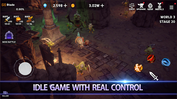 Screenshot 2: Dungeon Knight: 3D Idle RPG