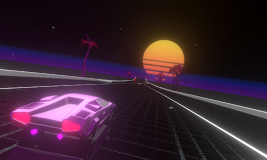 Screenshot 1: Music Racer