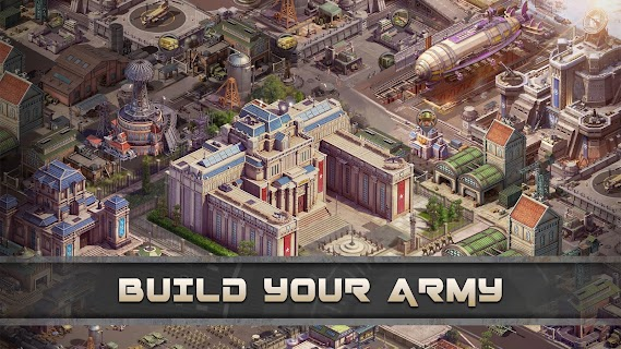 Screenshot 3: Z Day: Hearts of Heroes | MMO Strategy War