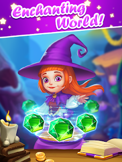 Screenshot 3: Jewels Witch Journey