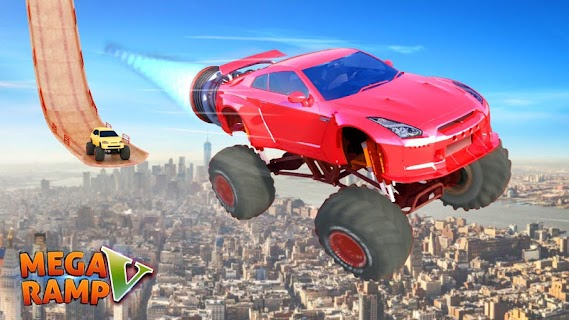 Screenshot 4: Mega Ramp V - Car Stunts