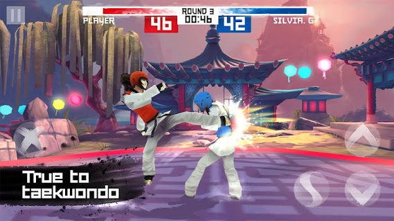Screenshot 1: Taekwondo Game