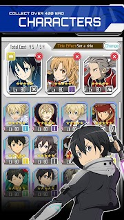 Screenshot 2: SWORD ART ONLINE: Memory Defrag | Asia