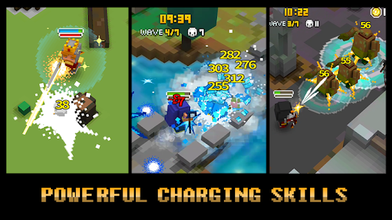 Screenshot 3: Pixel Knights