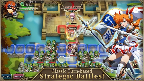 Screenshot 3: Langrisser Mobile | Inglés
