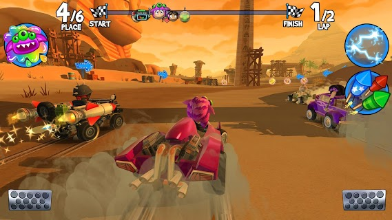 Screenshot 2: Beach Buggy Racing 2