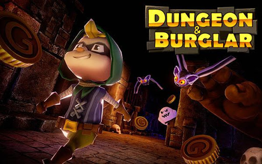 Screenshot 1: Dungeon And Burglar