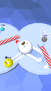 Screenshot 2: Snow Roll.io