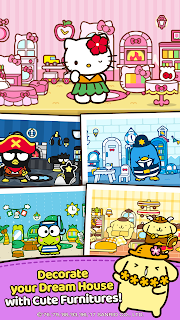 Screenshot 2: Hello Kitty Friends - Tap & Pop, Adorable Puzzles