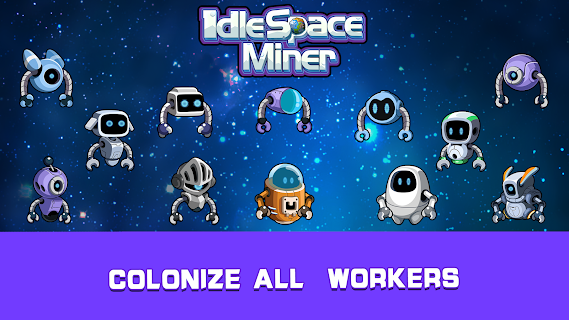Screenshot 3: Idle Space Miner - Idle Cash Mine Simulator