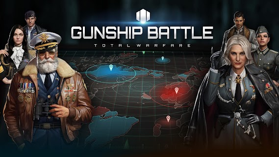 Screenshot 1: GUNSHIP BATTLE: TOTAL WARFARE
