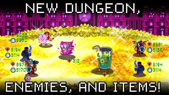 Screenshot 3: Soda Dungeon