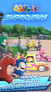 Screenshot 1: Oddbods Turbo Run