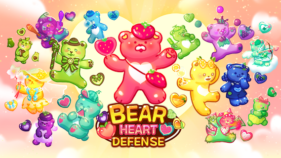 Screenshot 1: Bear Heart Defense