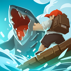 Icon: Epic Raft: Fighting Zombie Shark Survival Games