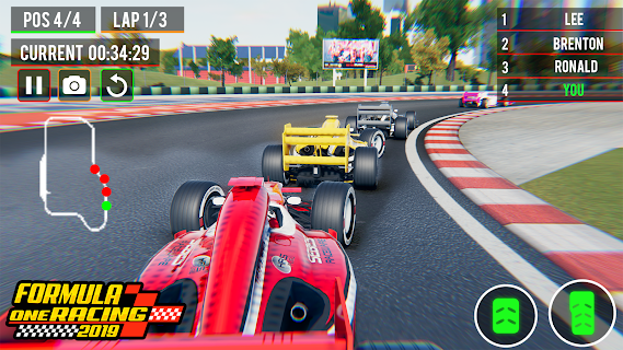 Screenshot 2: Top Speed Formula Car Racing: New Car Games 2020