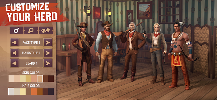 Screenshot 1: Westland Survival - Be a survivor in the Wild West