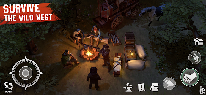 Screenshot 3: Westland Survival - Be a survivor in the Wild West