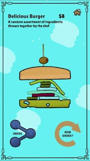Screenshot 4: Floppy Burger - New Chef in Town