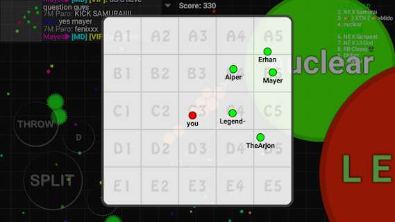 Screenshot 4: Blob io - Divide and conquer