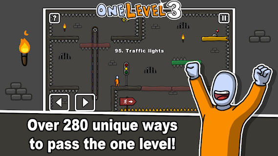Screenshot 2: One Level 3: Stickman Jailbreak