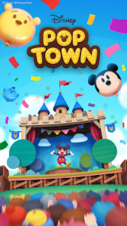 Screenshot 1: Disney Pop Town | 韓文版