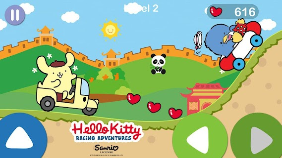 Screenshot 2: Hello Kitty juego de aventura de carreras