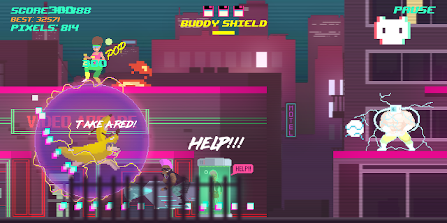 Screenshot 2: Top Run: Retro Pixel Adventure