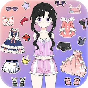 Icon: Vlinder Princess - Dress Up Party, Avatar Fairy