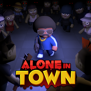 Icon: Alone in Town : Free Zombie Shooting Offline