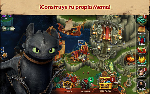 Screenshot 1: Dragones: El resurgir de Mema