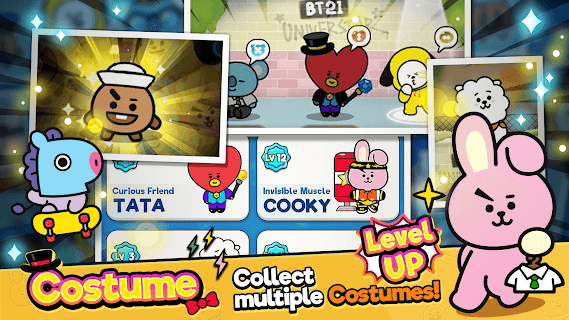 Screenshot 3: BT21 POP STAR
