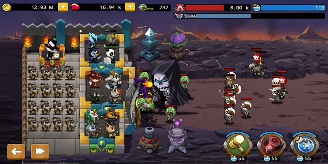 Screenshot 1: Castle Defense King