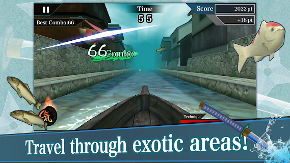 Screenshot 3: Samurai Sword