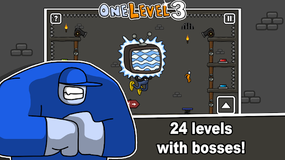 Screenshot 3: One Level 3: Stickman Jailbreak