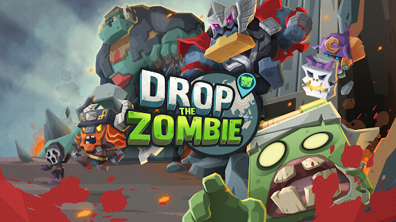 Screenshot 1: Drop The Zombie