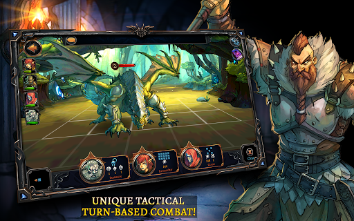 Screenshot 1: Dawn of the Dragons: Ascension - Turn based RPG
