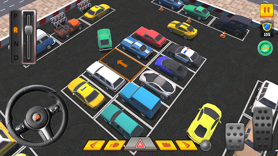 Screenshot 1: Car Parking 3D Pro
