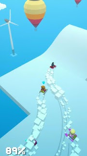Screenshot 3: Snow Drifting