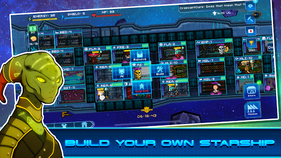 Screenshot 1: Pixel Starships™ : Hyperspace