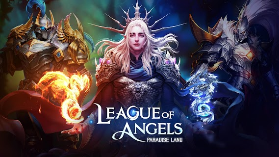 Screenshot 1: League of Angels-Paradise Land