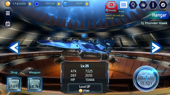 Screenshot 1: Galaxy Airforce War