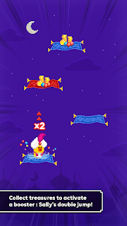 Screenshot 3: Magic Carpet Sally